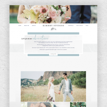 kimbry blogger custom template